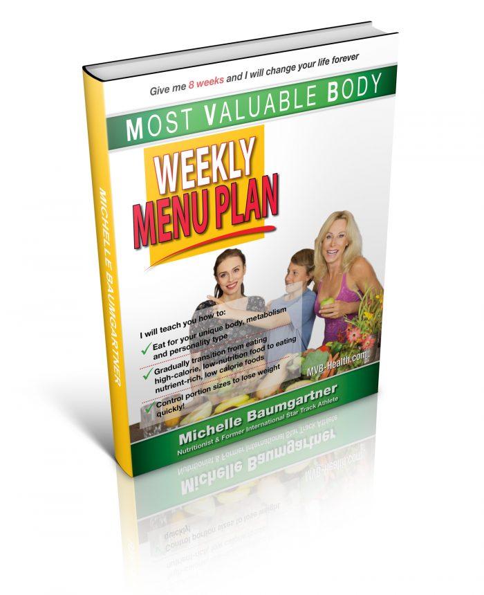 Weekly Menu Plans. MVB-Health