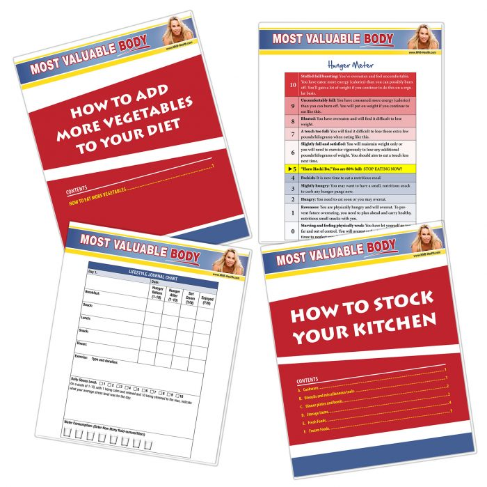 Toolbox MVB-Health. Recipes and ahcks to force your body to burn fat