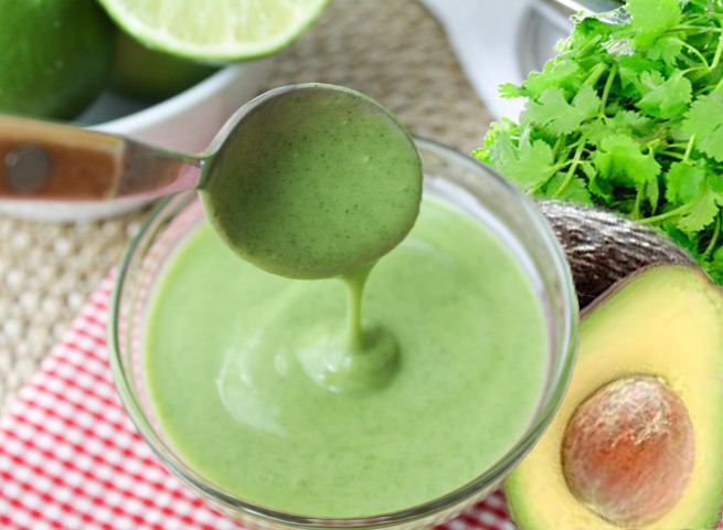 Cilantro-Avocado-Dressing