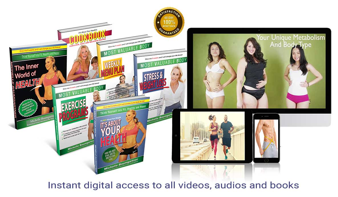 Instant digital access to all videos, audios and books