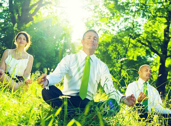 Meditate for a healthier mind. MVB-Health.